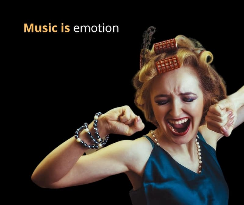 music is emotion