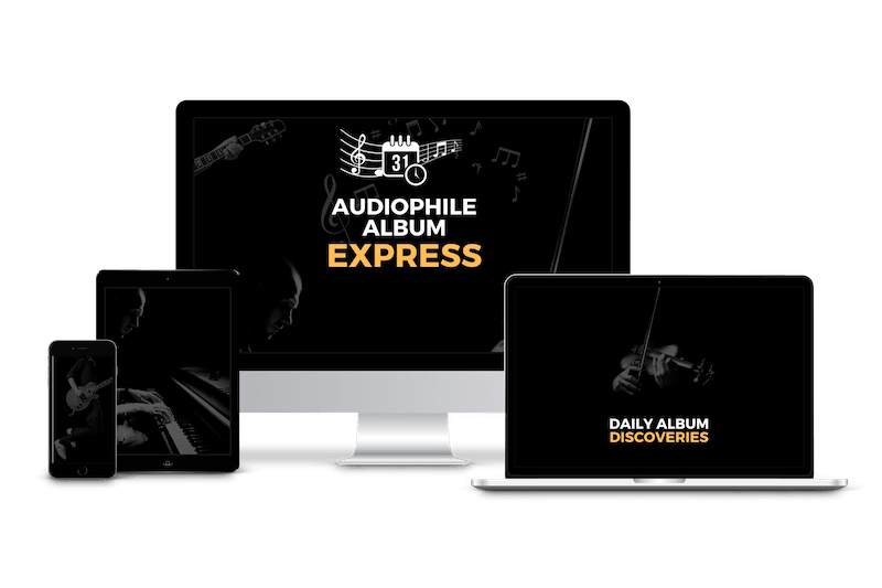 Audiophile Album Express access everywhere at any time available on all devices PC laptop tablet smartphone