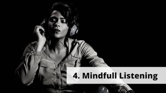 Mindful music listening